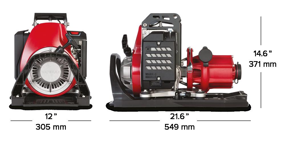 La nouvelle pompe portative à haute pression MARK-3MD édition Watson pour les pompiers forestiers