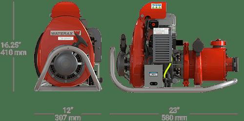 La pompe à incendie portative MARK-3MD pour les pompiers forestiers