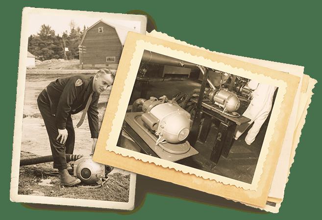 La pompe MARK-3MD édition Watson marque l'histoire des pompes à incendie.